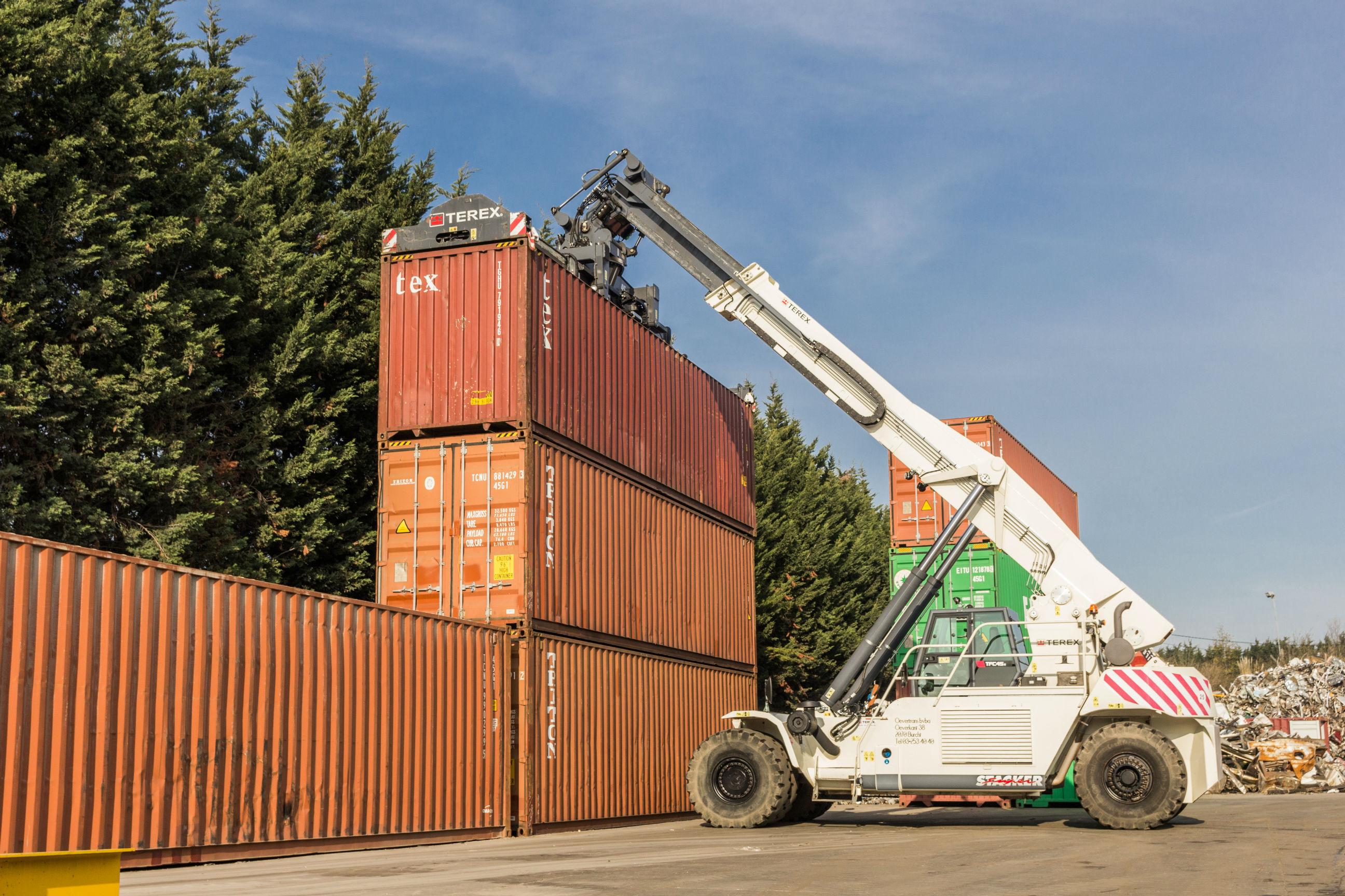 Zeecontainer gasvrij